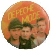 Depeche Mode - 'Group in Line' Button Badge